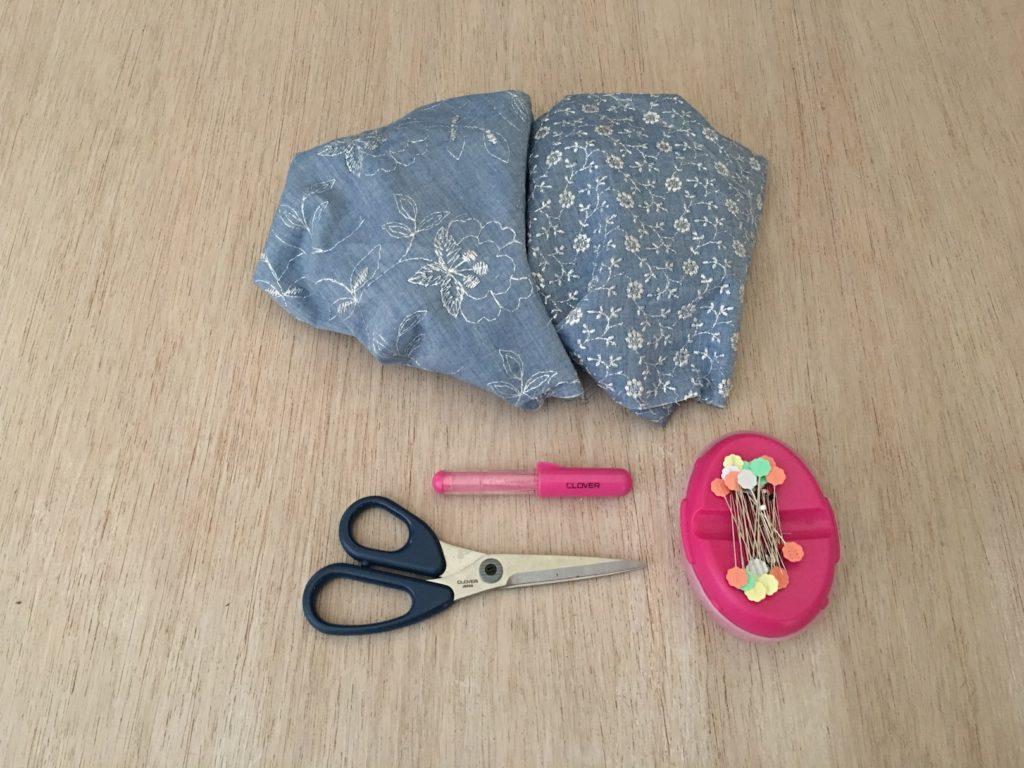 per realizzare la borsa origami occorre davvero poco