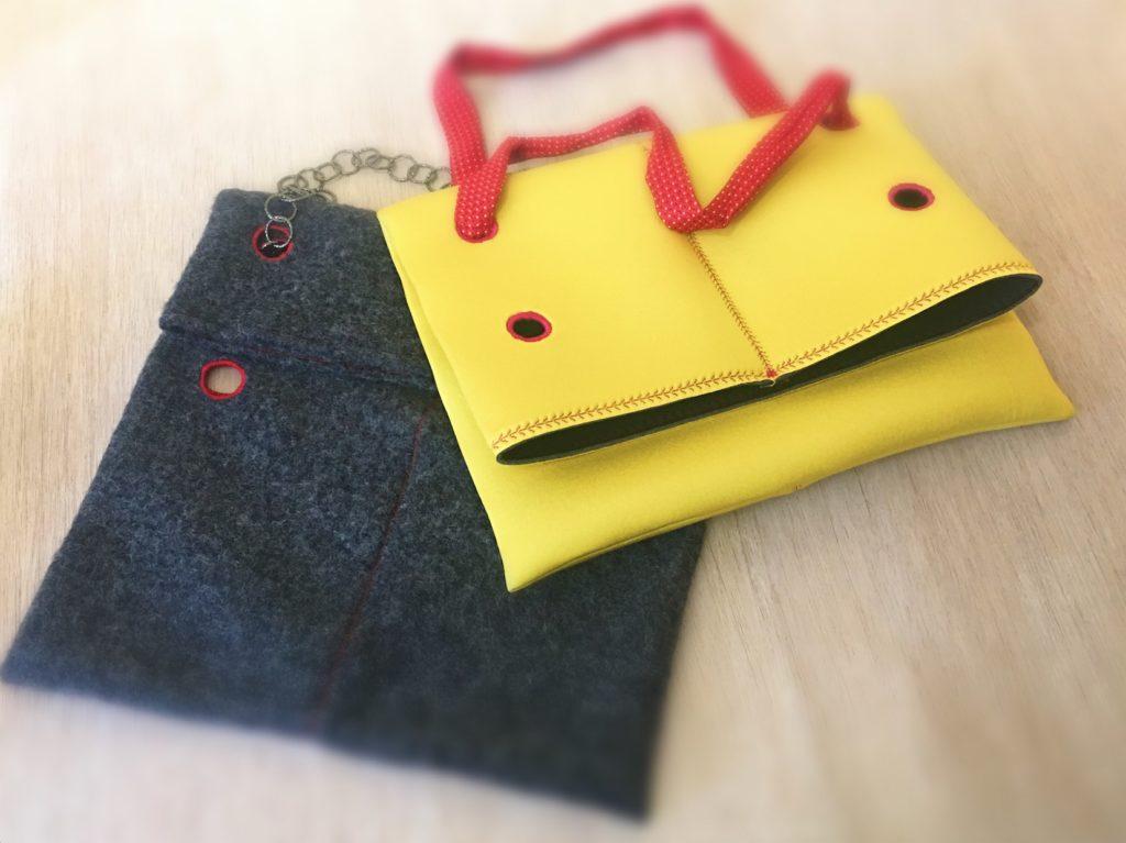 varianti di borse con i buchi