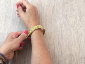 misurate il vostro polso più 5 cm.