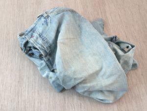 Recuperate un vecchio jeans