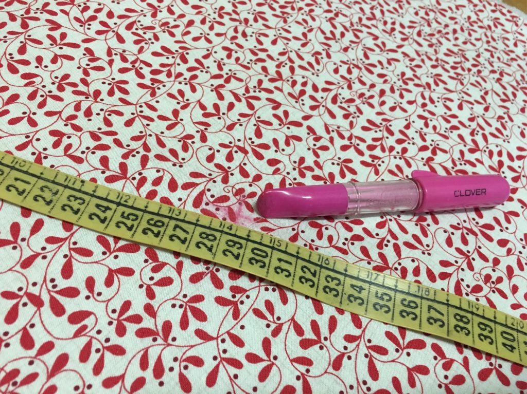 tracciate il centro con la penna gessetto