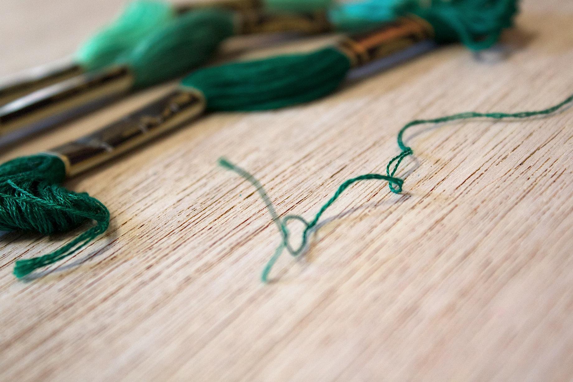 fili da ricamo per il punch needle