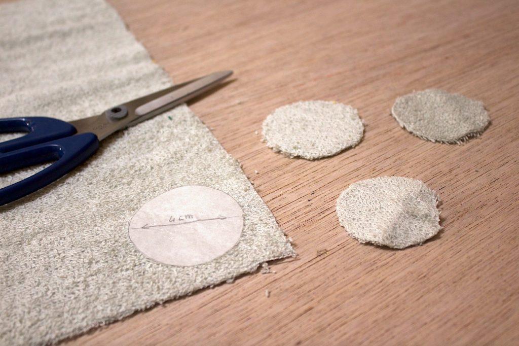 completate le tasche con le impronte