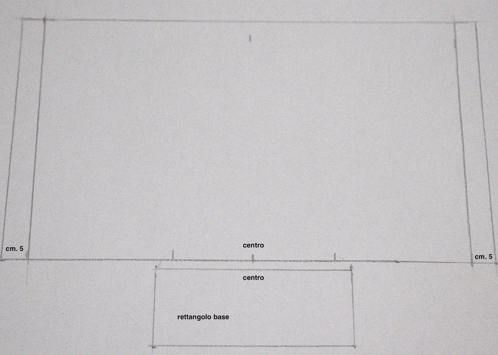 piccolo schema per semplificare l'assemblaggio del Porta tutto