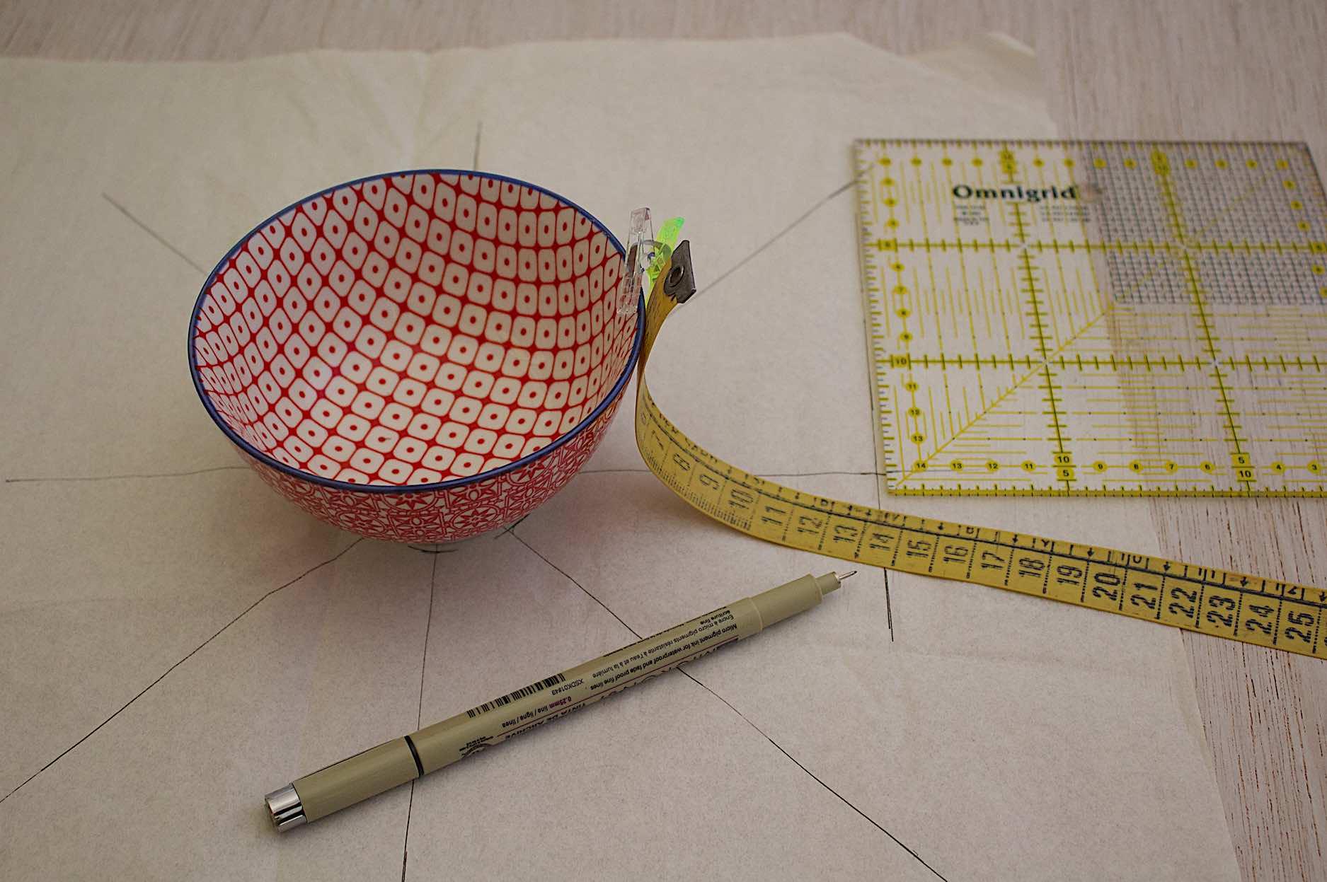 calcolare l'altezza del contenitore che sarà posto all'interno del piatto termico