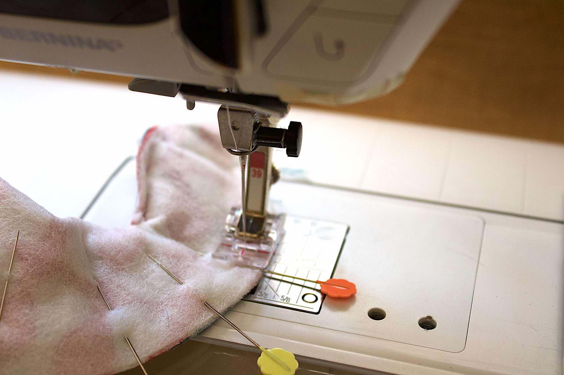 cucire a piedino