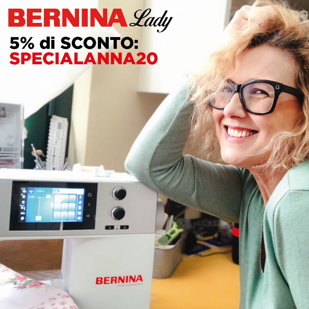 Anna Borrelli + Bernina