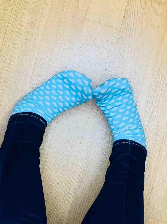 calzini indossati